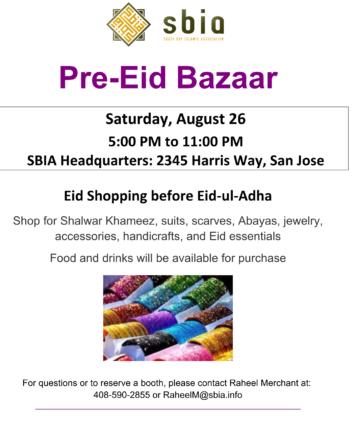 Thumbnail for Pre-Eid Bazaar