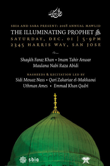 Thumbnail for SBIA Annual Mawlid