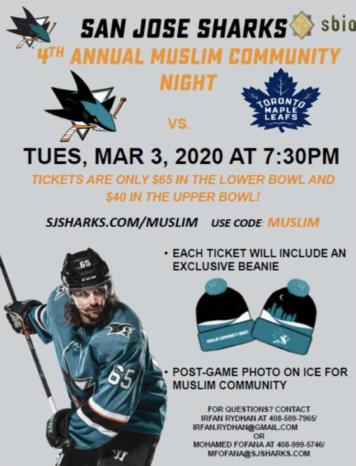 Thumbnail for San Jose Sharks Muslim Community Night